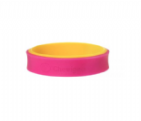 Flip Bangle (Child) - Pink & Yellow